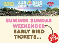 Summer Sundae announces line-up additions