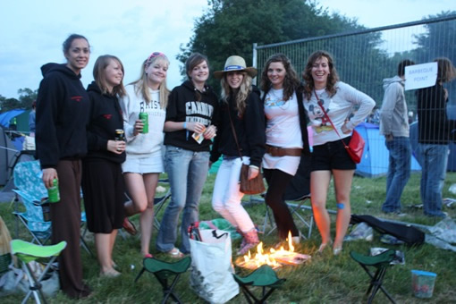Campfires and barbequeues were allowed only in designated areas