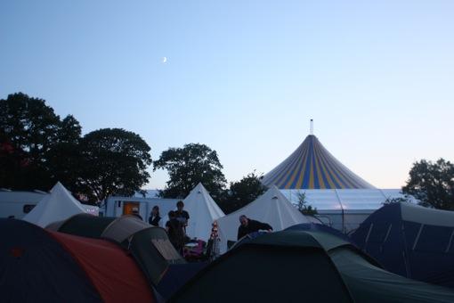 East Dance tent