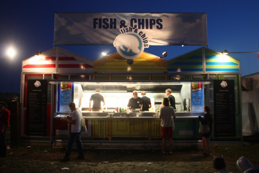 Fish and Chips in Dance Village