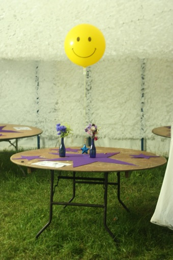 The Artist Liaison happy balloon