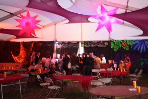 The Dance Village backstage bar
