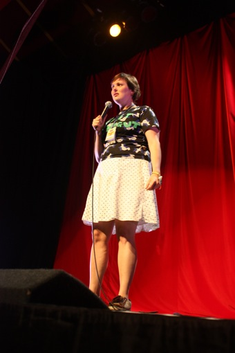 Comedy at the Cabaret tent