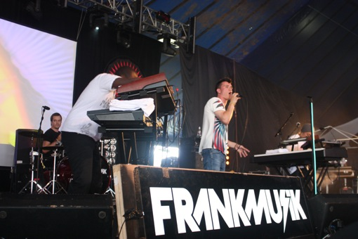 Frankmusik in the East Dance tent